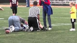 Scarry Youth Football   Worst Injury Ever