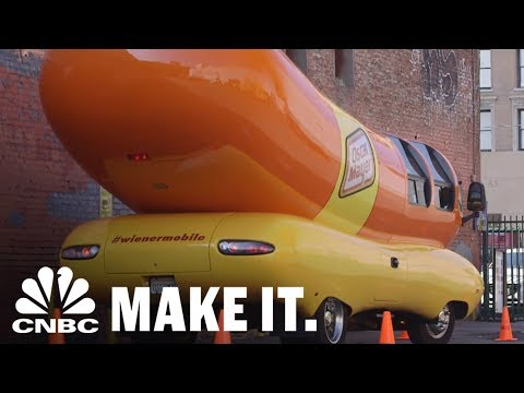 How To Get A Job Driving The Weinermobile For Oscar Meyer | CNBC Make It.