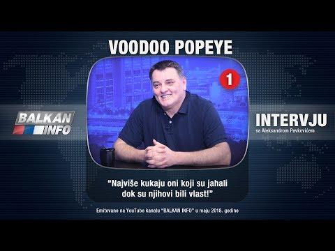 INTERVJU: Voodoo Popeye - Najviše kukaju oni koji su jahali dok su njihovi bili vlast! (29.05.2018)