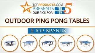 Best Outdoor Ping Pong Table Reviews 2017 – How to Choose the Best Outdoor Ping Pong Table