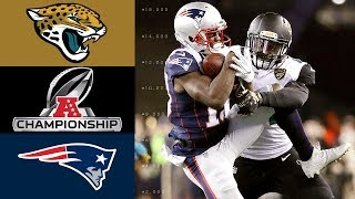 Jaguars vs Patriots  NFL AFC Championship Game Highlights