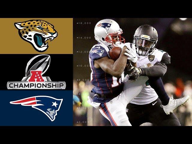 Jaguars vs. Patriots | NFL AFC Championship Game Highlights