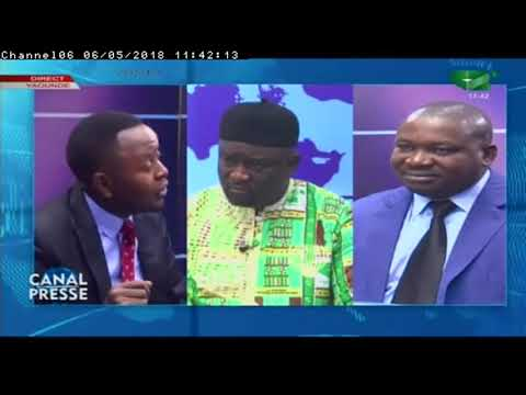 """CANAL PRESSE, 06/05/2018: """"Etats des Lieux de la Liberté de presse au Cameroun"""""""