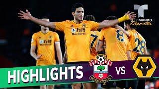 Southampton vs. Wolverhampton: 2-3 Goals & Highlights | Premier League | Telemundo Deportes