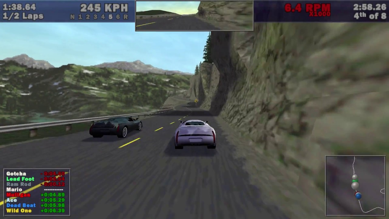 Need For Speed Iii Hot Pursuit 1998 Rocky Pass Italdesign
