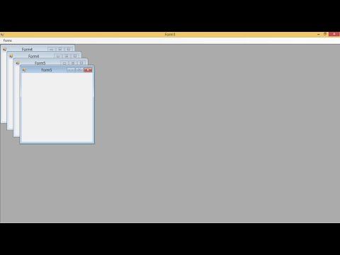 C Tutorial  How to use Multiple Document Interface MDI Form  FoxLearn