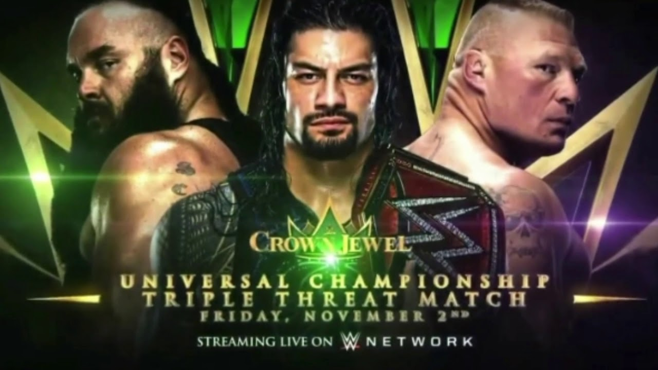 Related WWE Universal Champion Brock Lesnar Returns to UFC Of course the crown jewel among WWEs big events will always be WrestleMania which staged