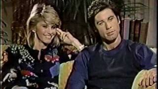 Olivia Newton-John & John John Travolta on Dick Cavett Behind The Scenes 1983 Part 1