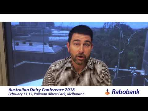 Rabobank dairy analyst Michael Harvey