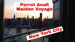 Parrot Anafi - Unedited Test footage from NYC
