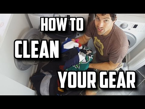 How To Clean Hockey Equipment
