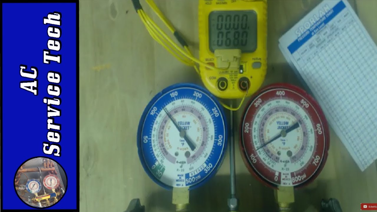 How to Read the HVAC P/T Chart for the Refrigerant Pressure Temperature  Relationship!