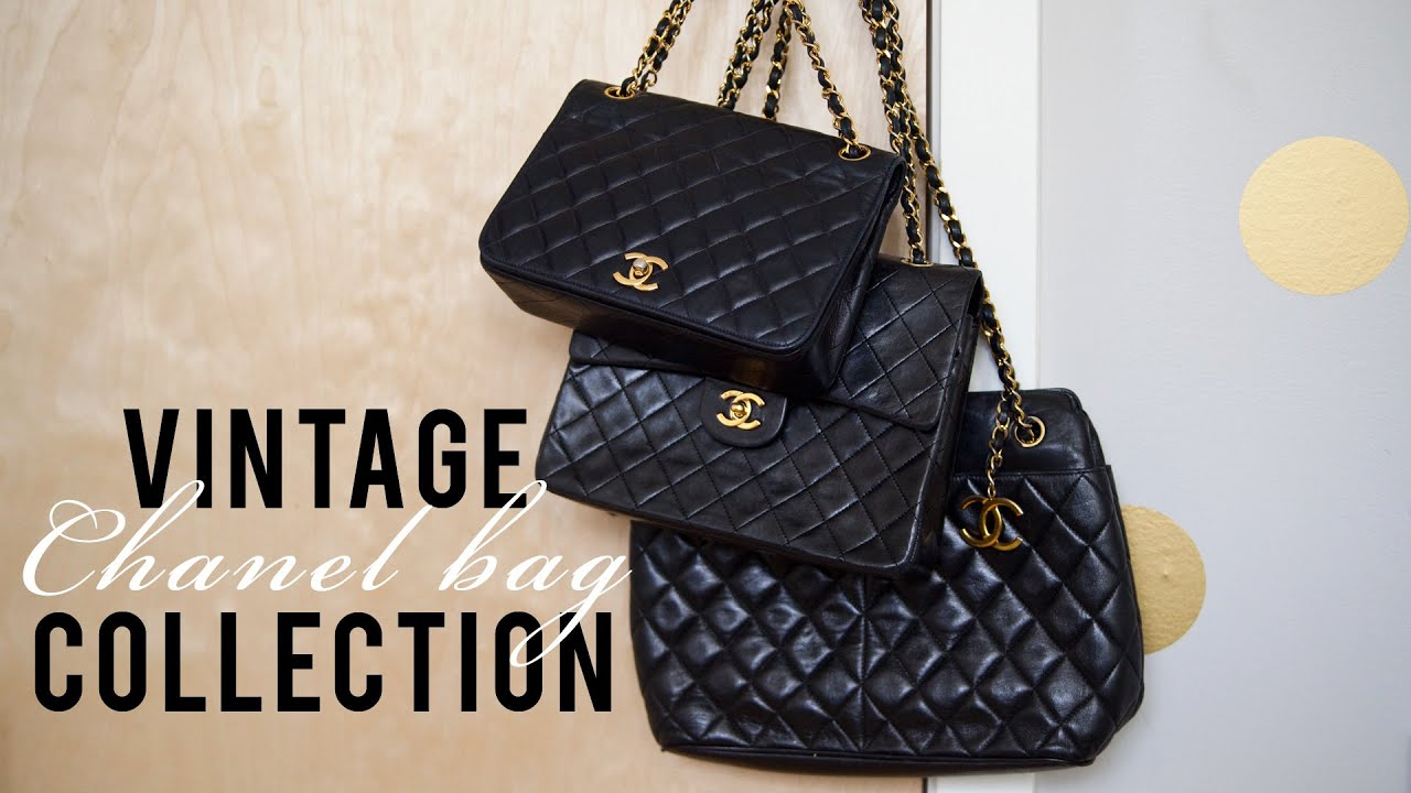 d26b05205572 Vintage Chanel Bag Collection - YouTube