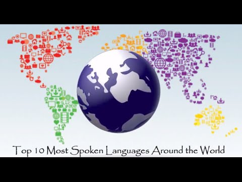 Top Most Widely Spoken Languages In The World YouTube - What is the most widely spoken language in the world