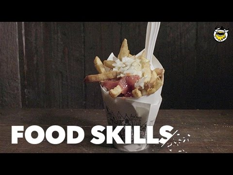 How New York's Favorite French Fries Get Made | Food Skills letöltés