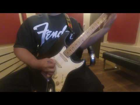 The 1993/1994 Fender Stratocaster american standard 40th anniversary Metal sound