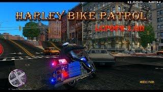 LCPDFR 1.0d GTA 4 EFLC Police Bike Patrol