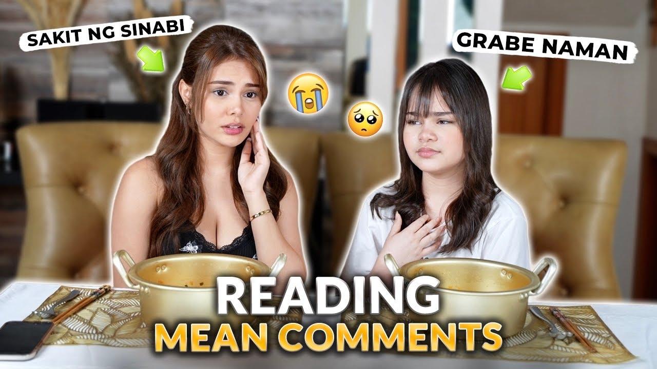 READING MEAN COMMENTS + MUKBANG! *NAHURT KAMI* | IVANA ALAWI