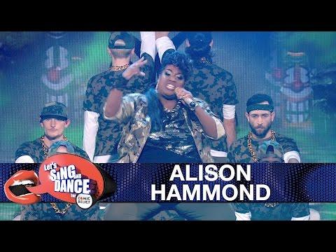 Alison Hammond performs Missy Elliot's Get Ur Freak On | Let's Sing and Dance