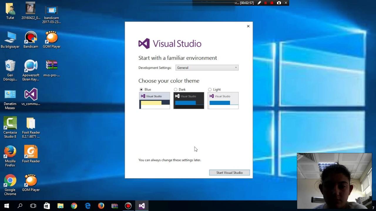 Visual Studio 2015 programı nasıl kurulur ?
