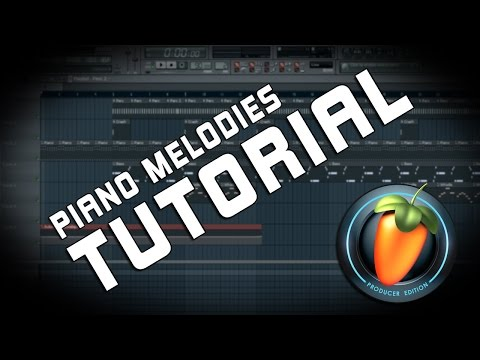 FL Studio Tutorial - How To Make A Basic Hip Hop Piano Melodies [Tune Seeker]