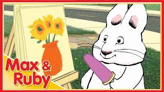 Max & Ruby: Max's Sandwich / Max's Ice Cream Cone / Ruby's Art Stand - Ep. 57