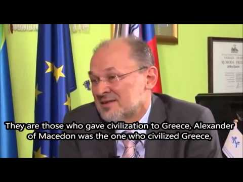 Slovenian MEP Jelko Kacin about the Former Yugoslav Republic of Macedonia