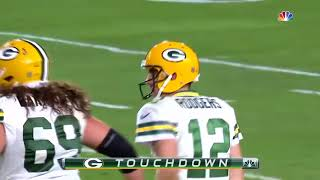 Aaron Rodgers Highlights -  top 10 aaron rodgers playoff throws  nfl highlights