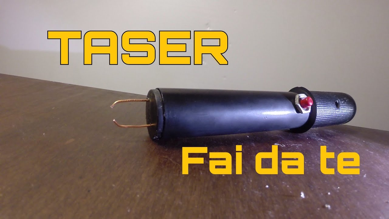 Vero taser stun gun fai da te youtube for Cavalletto alzamoto fai da te