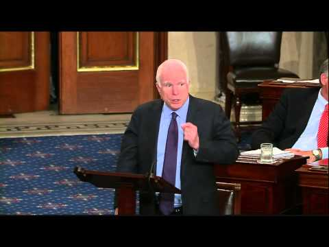 SENATOR McCAIN ON HIS OPPOSITION TO IRAN NUCLEAR AGREEMENT