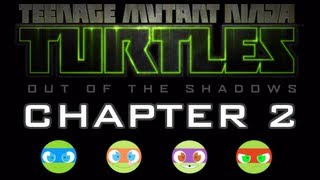TMNT: Out of the Shadows - Gameplay Walkthrough Part 3 - Chapter 2 [HD] XBLA PSN PC