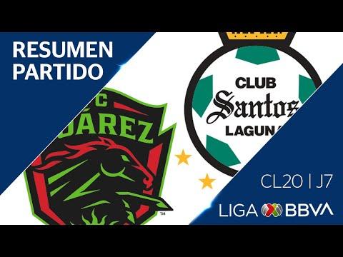 Juarez Santos Laguna Goals And Highlights