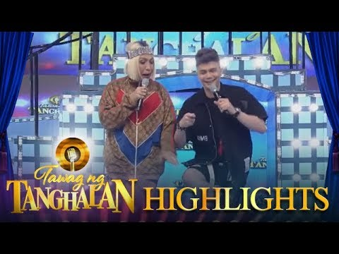 """Tawag Ng Tanghalan: Vice And Vhong Do A Famous KathNiel Scene From Their Movie """"The Hows Of Us"""""""