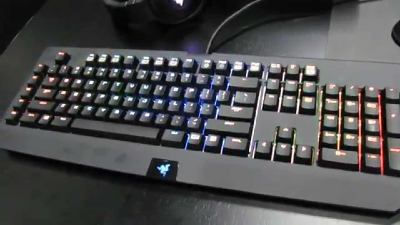 Razer BlackWidow Ultimate Chroma - YouTube