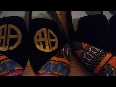 Dashiki Shoes by Missy EWA London