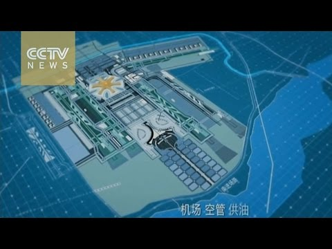 Construction of Beijing's new airport is underway