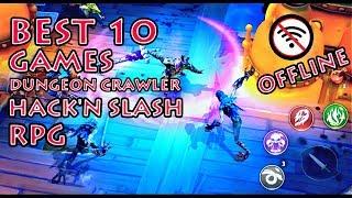 BEST 10 GAMES Dungeon Crawler Hack