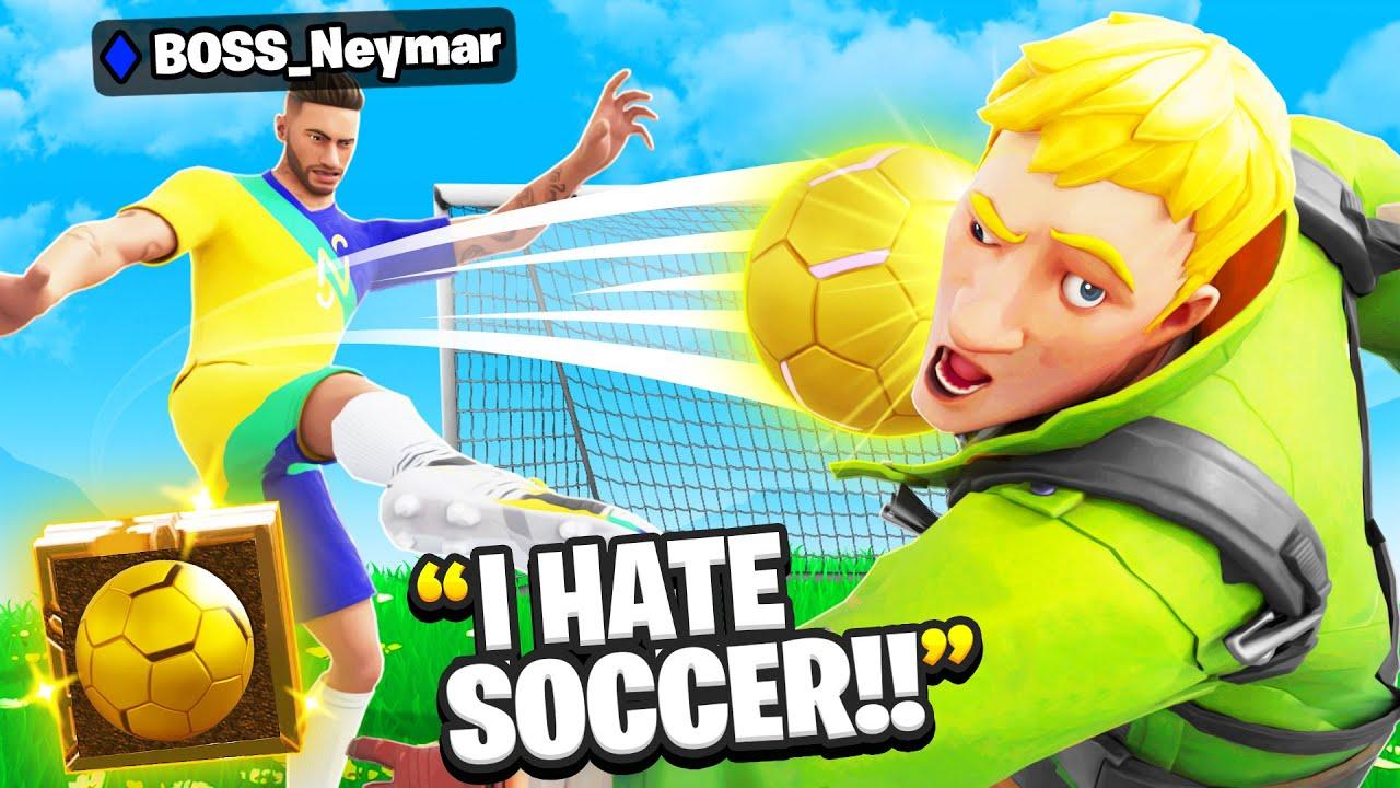 Download I Pretended To Be BOSS Neymar Jr.. (Fortnite)