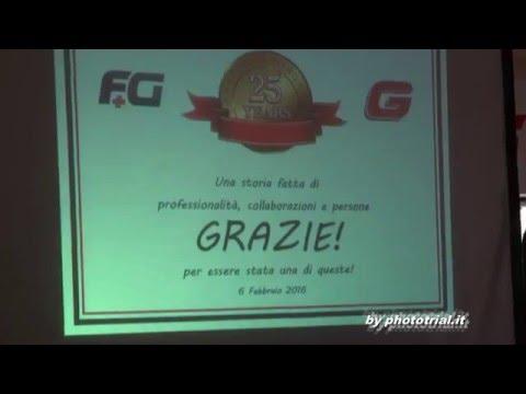FESTA DELLA FG DISTRIBUTION (GAS GAS ITALIA) PER I PRIMI 25 ANNI