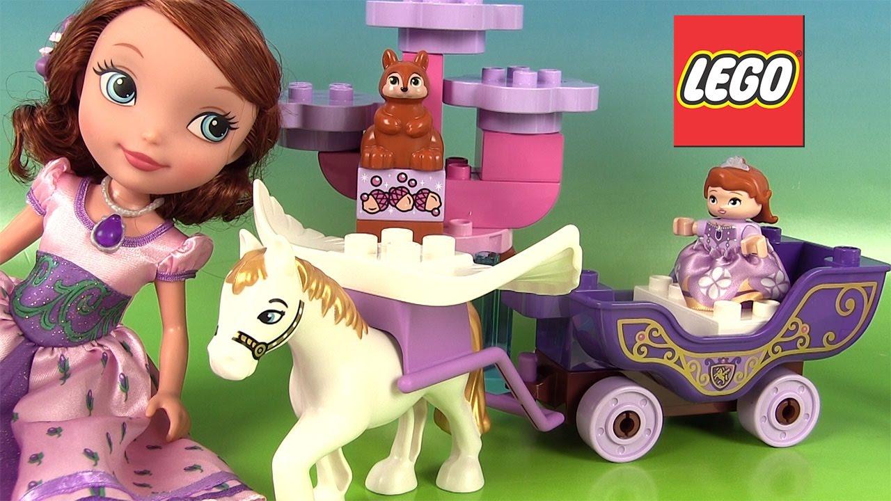 Princesse Sofia Lego Carrosse Magique Jeu De Construction Magical