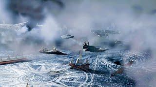 【穷电影】巨型货船经过百慕大三角,意外消失,再次回来里面的人变得很可怕