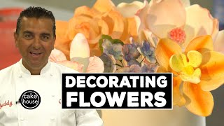 Sugar Flower Decoration Tips by The Cake Boss | Welcome to Cake Ep14