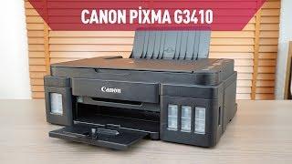 Canon Pixma G3410 Mürekkep Tanklı Yazıcı İncelemesi