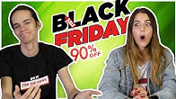 YOUTUBERI REAGUJÚ na BLACK FRIDAY