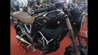 Modif Yamaha Scorpio Custom Ducati Scrambler Replica