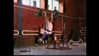 young Dmitry Klokov (part 4)   NEW !!!