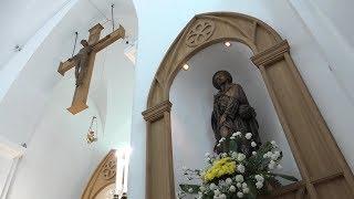 Молитва и торжественное богослужение в честь 155 летия со дня освящения костела Пресвятой Троицы свя