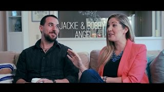 Caffeinated Conversations with Jackie & Bobby Angel