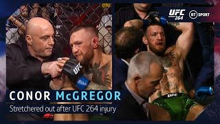 """""""This is not over!"""" Conor McGregor UFC 264 interview"""