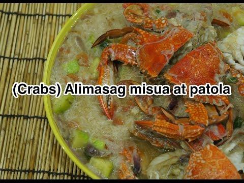 ★★ Paano magluto Alimasag Misua at Patola Recipe - Pinoy Filipino Tagalog
